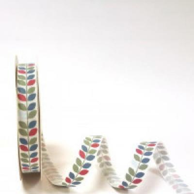 Patterned Grosgrain Ribbon