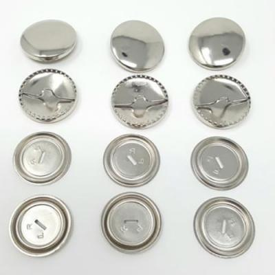 Self-Cover Buttons