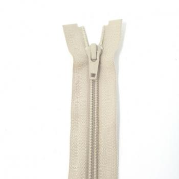 YKK MEDIUM WEIGHT OPEN END ZIP 14in/36cm TAUPE