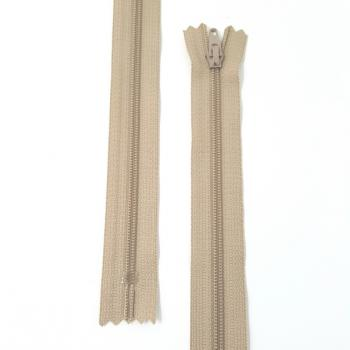 YKK NYLON DRESS ZIP 12in/30cm TAUPE