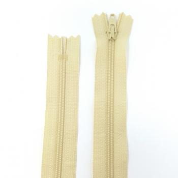 YKK NYLON DRESS ZIP 14in/36cm PALE YELLOW