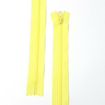 YKK NYLON DRESS ZIP 18in/46cm YELLOW