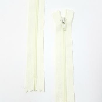 YKK NYLON DRESS ZIP 18in/46cm LIGHT CREAM