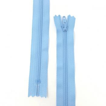 YKK NYLON DRESS ZIP 18in/46cm LIGHT BLUE