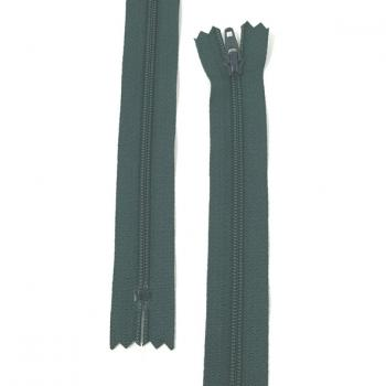 YKK NYLON DRESS ZIP 22in/56cm DARK GREEN