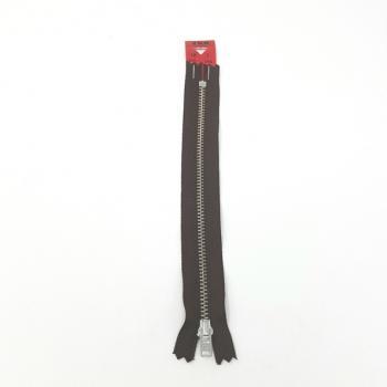 YKK NICKEL ZIP 18cm/7in Wht