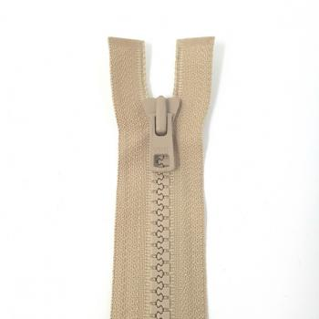 YKK HEAVY WEIGHT OPEN END ZIP 28in/71cm TAUPE