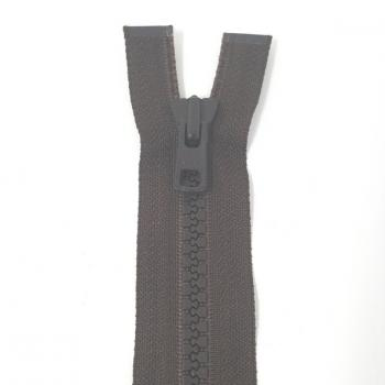YKK HEAVY WEIGHT OPEN END ZIP 30in/76cm BROWN