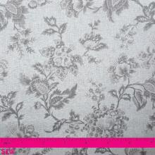 VINTAGE FLORAL CREAM - TAUPE
