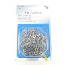 MILWARD QUILTER'S CURVED SAFETY PINS