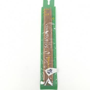 BAMBOO DOUBLE POINT KNITTING NEEDLES 3.5mm
