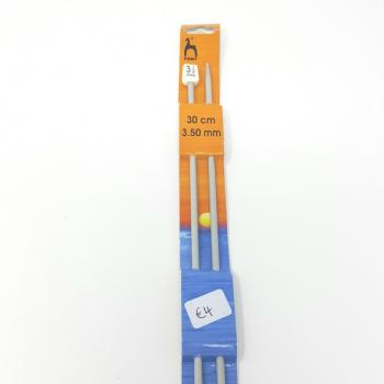 PONY KNITTING NEEDLES 3.25mm 30cm