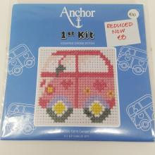 ANCHOR 1ST KIT XSTITCH CAMPER