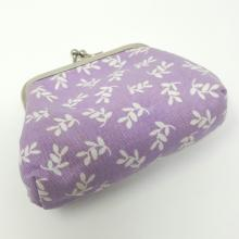 FLORAL FABRIC PURSE