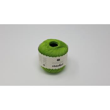 RICO COTTON 2PLY NO.10 LIGHT GREEN