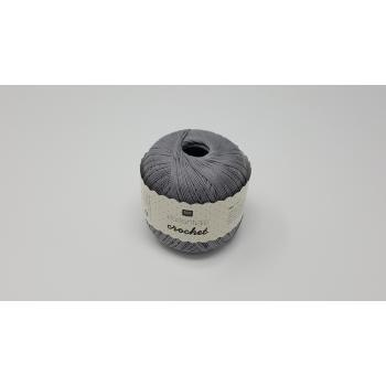 RICO COTTON 2PLY NO.10 SLATE GREY