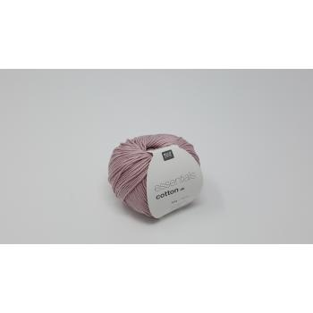 RICO ESSENTIAL COTTON SMOKEY ROSE DK