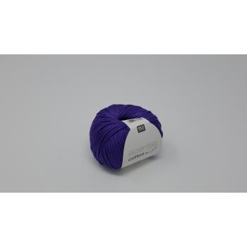 RICO ESSENTIAL COTTON PURPLE DK