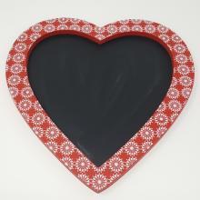 NORDIC HEART CHALK BOARD