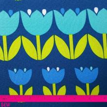 PALM SPRINGS TULIPS ON BLUE