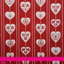 SCANDI HEARTS RED