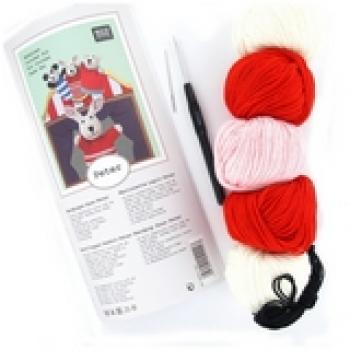 CROCHET KIT HAND PUPPET PETER