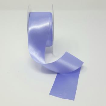 38mm DOUBLE FACED SATIN RIBBON LILAC