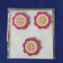 PINK FLOWER TRIO