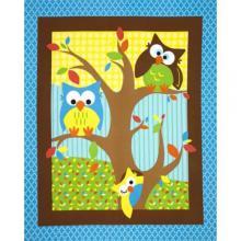 BRIGHT OWL NURSERY PANEL