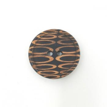 BLACK OVALS BUTTON