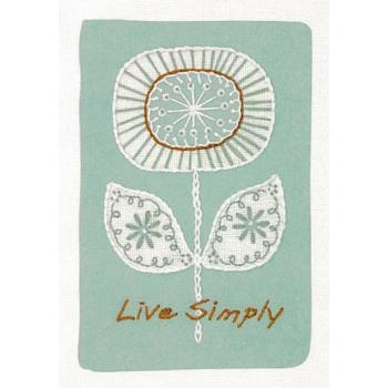 LIVE SIMPLY EMBROIDERY
