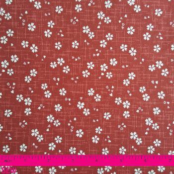 JAPANESE RED FLOWER PRINT