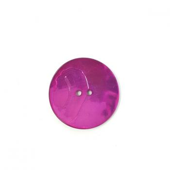 CERISE PINK LARGE MOTHER OF PEARL BUTTON