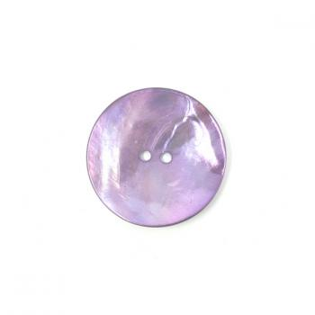 PURPLE-PINK LARGE MOTHER OF PEARL BUTTON