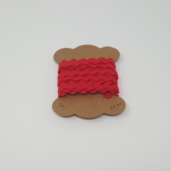 1/4inch RIC RAC RED