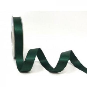 15mm DOUBLE FACED SATIN RIBBON GREEN