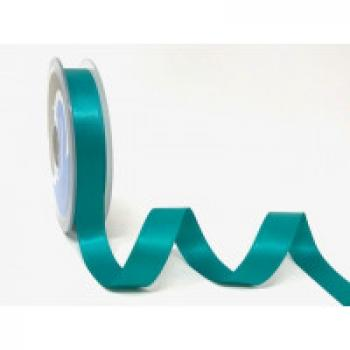 15mm DOUBLE FACED SATIN RIBBON JADE