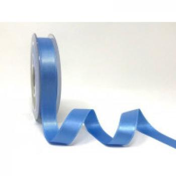 15mm DOUBLE FACED SATIN RIBBON BLUE