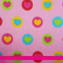 SIMPLY SWEET HEARTS ON PINK
