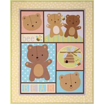 LITTLE BROWN BEAR PANEL