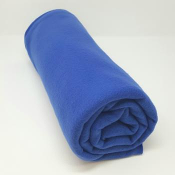POLYESTER POLAR FLEECE ROYAL BLUE 1.5m x 1.5m