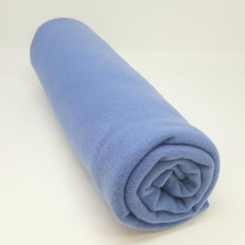 POLYESTER POLAR FLEECE CHINA BLUE 1m x 1.5m