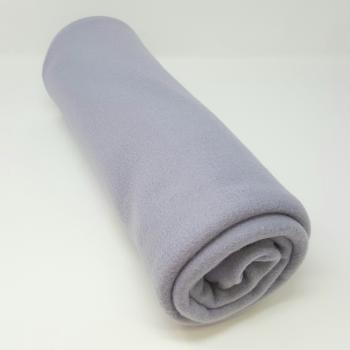 POLYESTER POLAR FLEECE LAVENDER GREY 2m x 1.5m