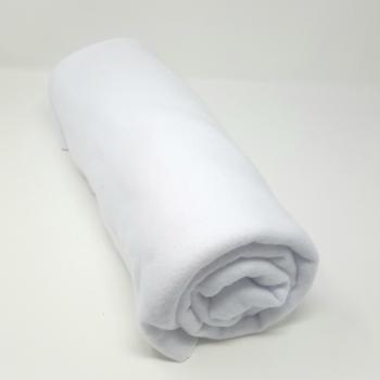POLYESTER POLAR FLEECE WHITE 1m x 1.5m