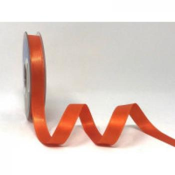 11mm DOUBLE FACED SATIN RIBBON ORANGE