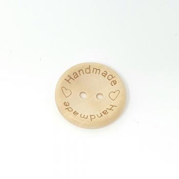 HANDMADE' WOODEN BUTTON