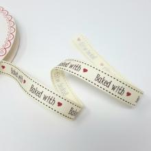 BAKED WITH' GROSGRAIN RIBBON 16mm