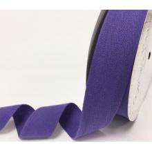 PURPLE COTTON HERRINGBONE TAPE