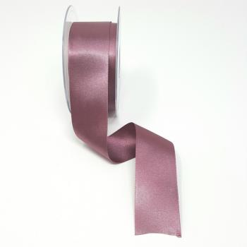 35mm DOUBLE FACED SATIN RIBBON GRAPE