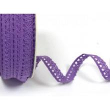 PURPLE LACE RIBBON
